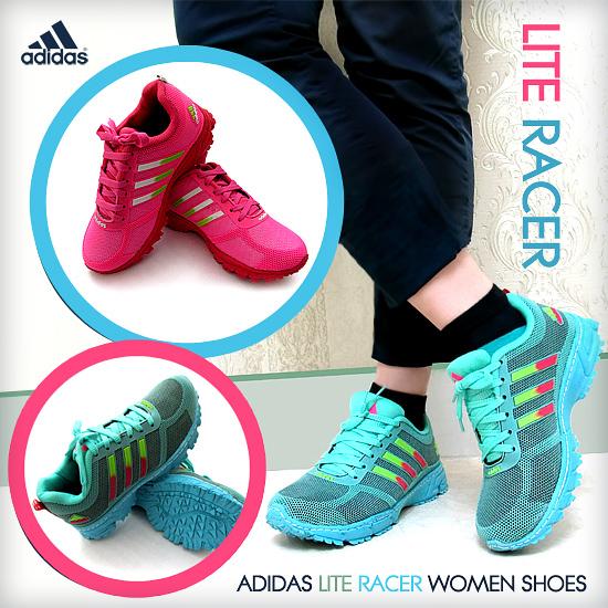 خرید اینترنتی کفش دخترانه Adidas مدل Lite Racer خرید آنلاین