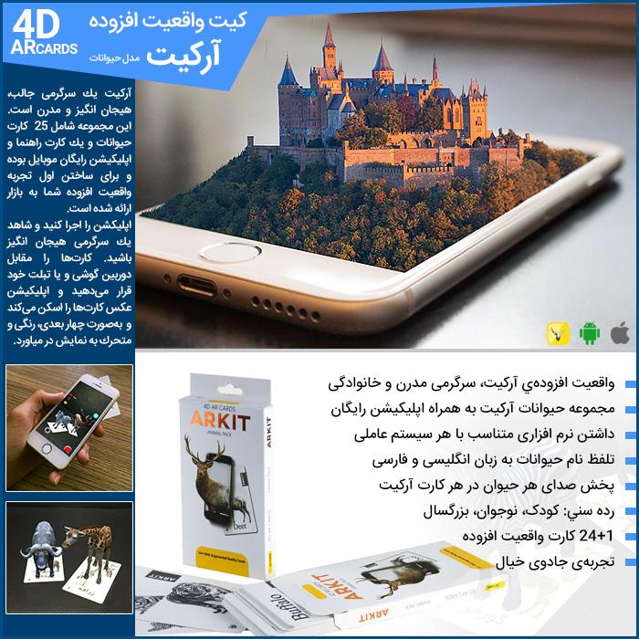کیت واقعیت افزوده آرکیت ARKIT Augmented Reality Kit