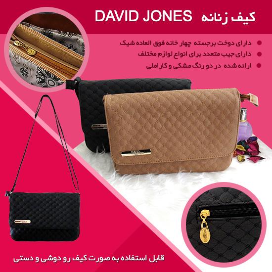 خرید اینترنتی کیف زنانه David Jones خرید آنلاین