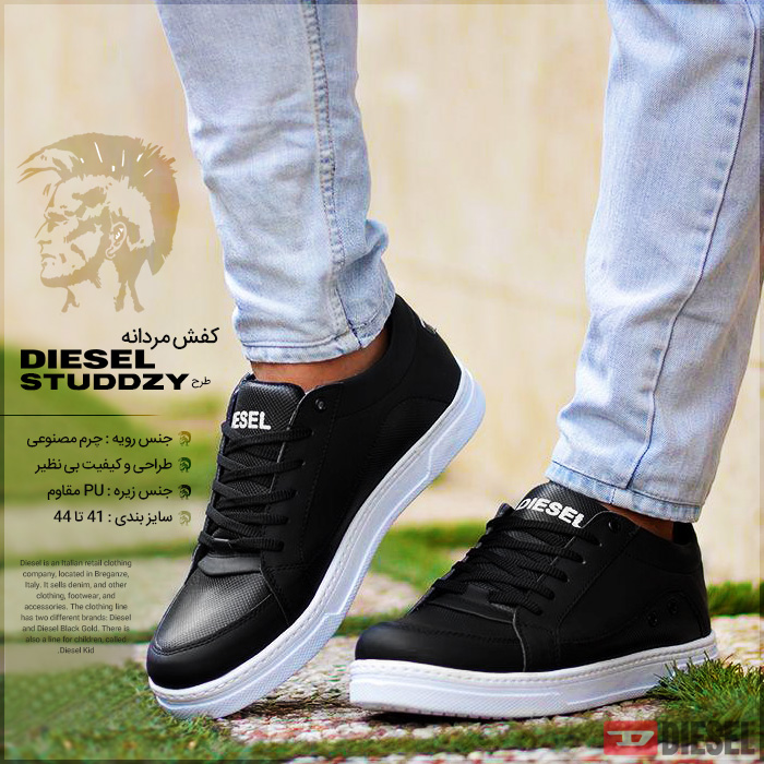 کفش مردانه Diesel طرح دیزل Studdzy Men Shoes