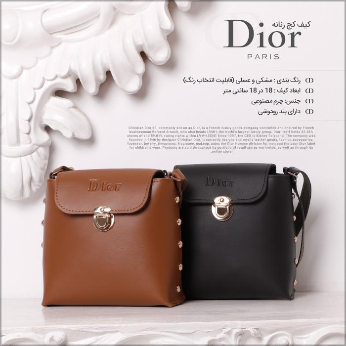 کیف کج زنانه Dior