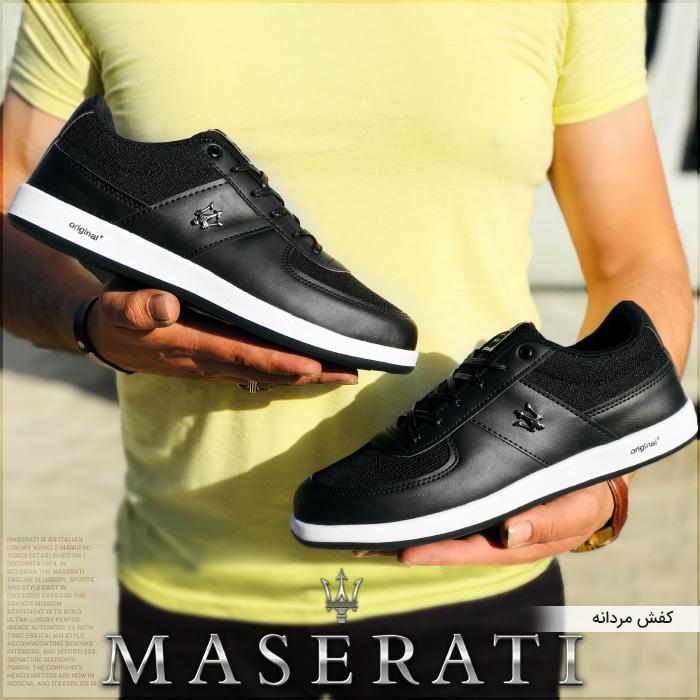کفش اسپرت مردانه مازراتی Maserati Men Shoes