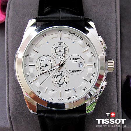 ساعت تیسوت TISOSOT بند چرم - مدل T1853