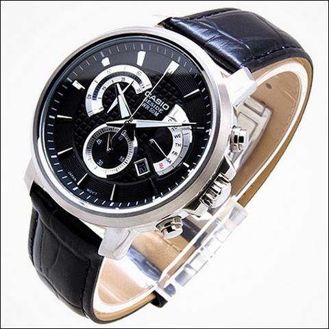 ساعت کاسیو بند چرم - مدل BEM-506