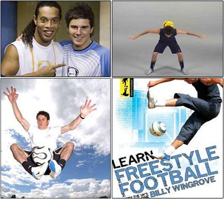 bily2 دانلود فیلم آموزش تکنیک های فوتبال Learn Freestyle Football With Billy Wingrove