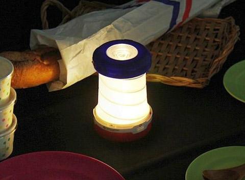چراغ فانوس تاشو 2 کاره