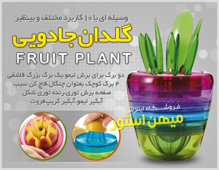 خرید اینترنتی گلدان جادویی Fruits Plant خرید آنلاین