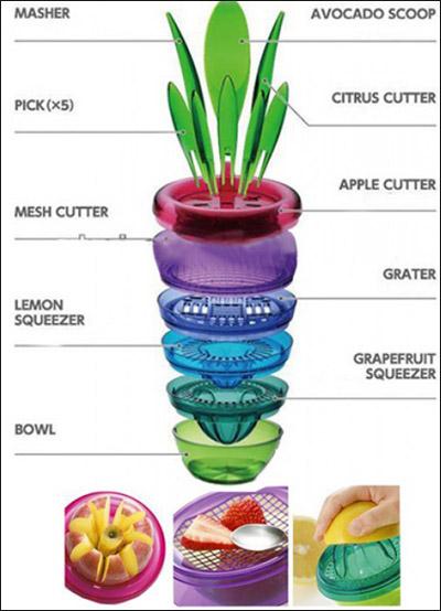 گلدان جادویی Fruits Plant