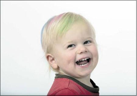 خرید اینترنتی رنگ موی موقت هات هیوز | WwW.BestBaz.IR