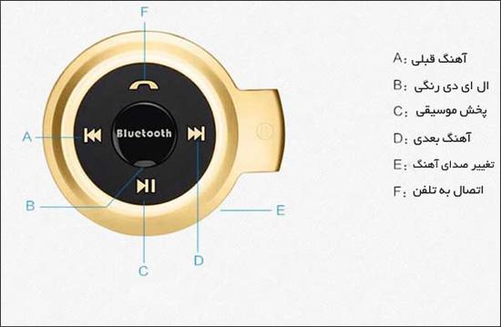 headset503 9 هدست بلوتوث جیبی