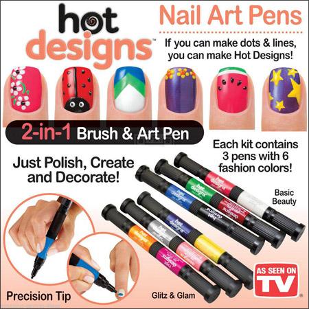 لاک ناخن قلمی مخصوص طراحی و نقاشی