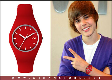عکس ساعت مچی ژله ای