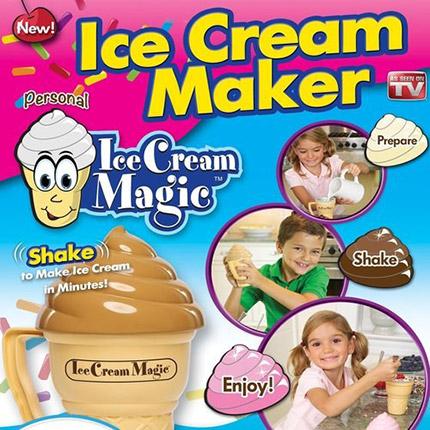 icemagic 2 دستگاه بستنی ساز خانگی مجیک