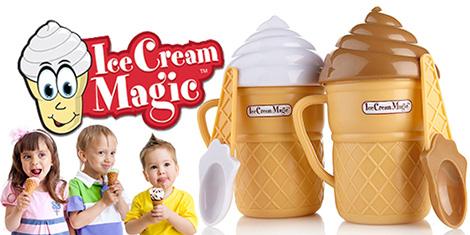 icemagic 4 دستگاه بستنی ساز خانگی مجیک