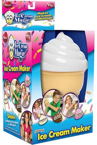 icemagic 5 دستگاه بستنی ساز خانگی مجیک