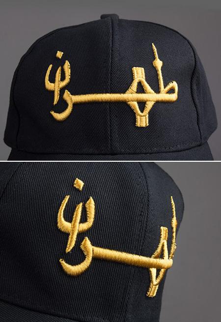 kaptehran 7 کلاه کپ طرح طهران