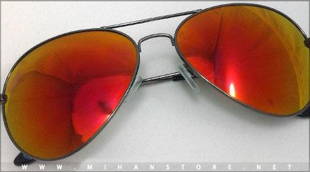 عینک خلبانی شیشه آتشی