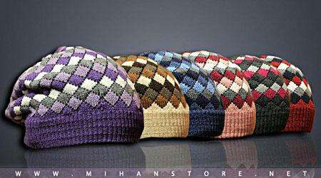 فروش پستی کلاه با کیفیت زمستانه برای مانتو