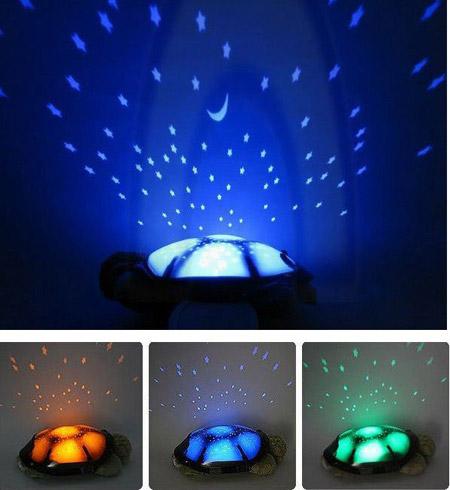 تصاویر چراغ خواب لاک پشت موزیکال