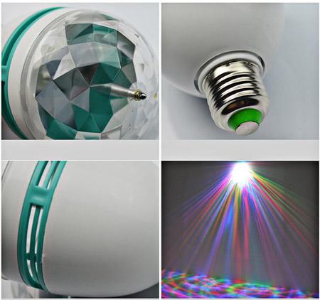 قیمت لامپ رقص نور LED