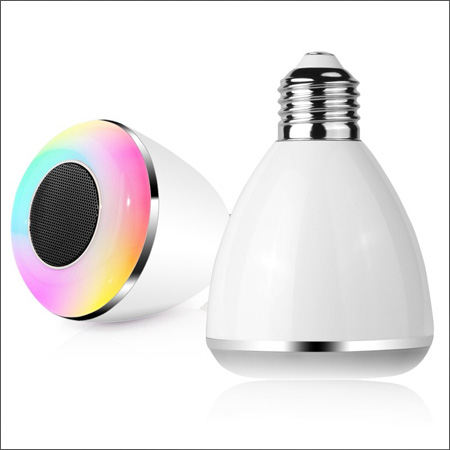 لامپ هوشمند اسپیکر بلوتوث کنترل دار