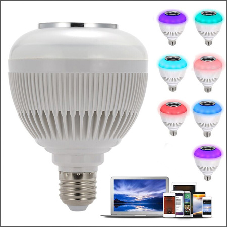 ledspeaker 5 لامپ هوشمند و اسپیکر بلوتوثی کنترل دار