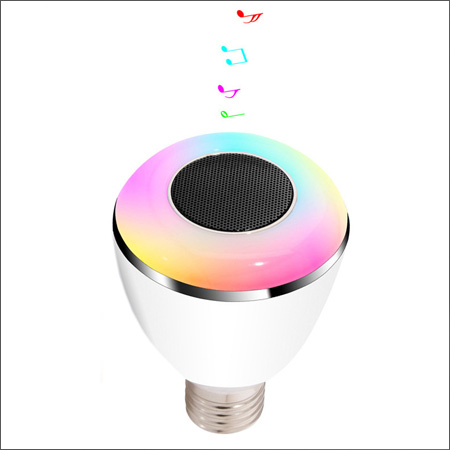 ledspeaker 7 لامپ هوشمند و اسپیکر بلوتوثی کنترل دار