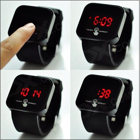 ساعت LED تاچ اسکرین(http://www.shop.mihanfaraz.ir/shop/43)