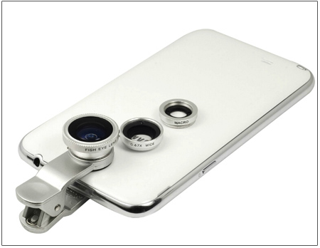 پکیج لنز عکاسی موبایل 3 کاره