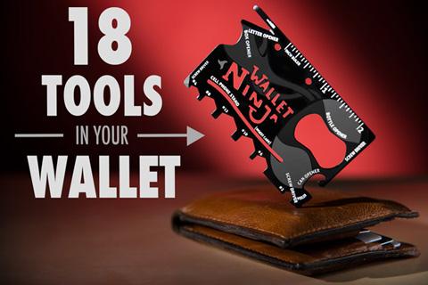 آچار همه كاره نينجا والت - Ninja Wallet