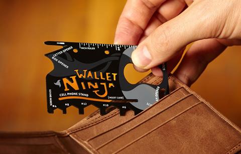 نينجا والت Ninja Wallet9