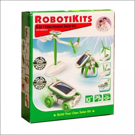 ربات لگویی خورشیدی 6 کاره