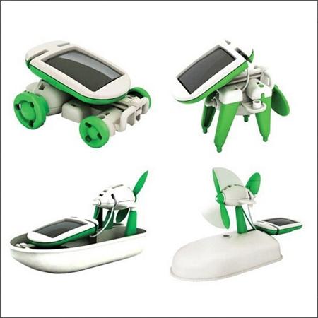 روبات خورشیدی 6 کاره ROBOTIKITS