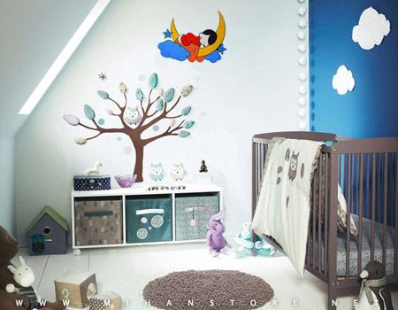 میهن استور - خرید پستی ساعت دیواری طرح رویای کودکقیمت : 48000 تومان