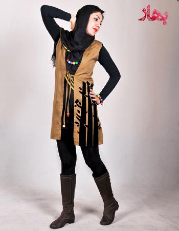 خرید سارافون مجلسی زنانه دخترانه طرح مانتو 2015