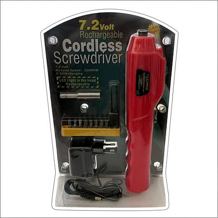 پیچ گوشتی شارژی بی سیم Cordless Screw Driver 7.2 Volt