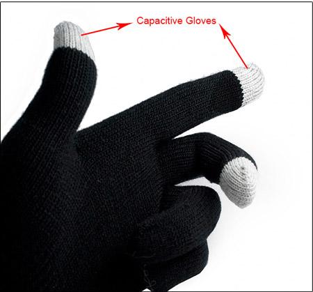 دستکش سیلور تاچ اصل و اورجینال