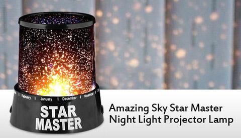 چراغ خواب موزیكال طرح ستاره