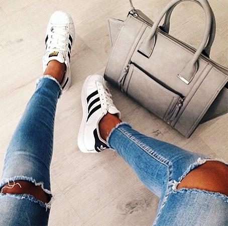 superstar 5 کفش زنانه Adidas مدل سوپراستار