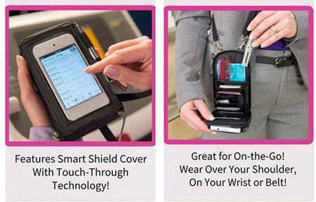 کیف پول و موبایل Touch Purse 3