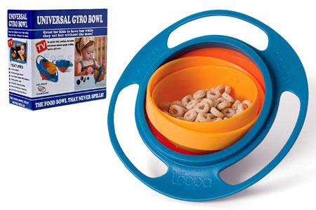 universal 6 ظرف غذای کودک Universal Gyro Bowl